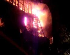 Phuket nightclub up in flames in Thai