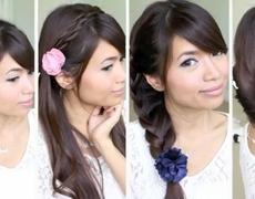 Easy BacktoSchool Hairstyles