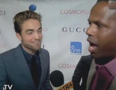 Robert Pattinson Breaks Silence for Cosmopolis