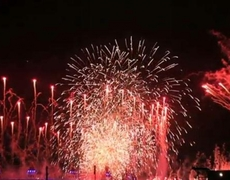 Olympic 2012 Closing Ceremony Magnificent Fireworks Part 1