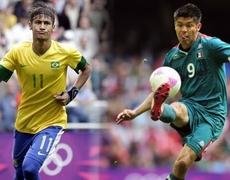 Mexico vs Brazil 1 0 1er Goal London Olympics 2012 11082012