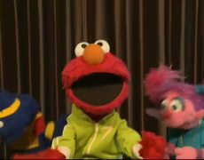 Elmo Abby Cadabby and Grover Sing Call Me Maybe