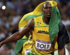 London 2012 Usain Bolt 200 mts WIN GOLD MEDAL