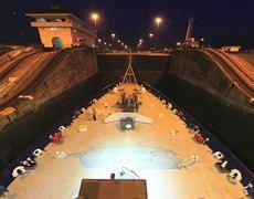 Training Ship Golden Bear Panama Canal