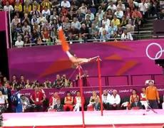 London Olympics 2012 Mens Horizontal Bar
