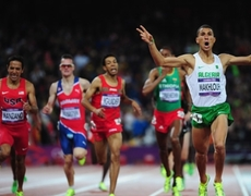 London 2012 1500m Mens Final Makhloufi Wins Gold Medal