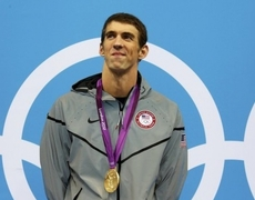 Michael Phelps Wins His Medal Number 21 Breaking All Records
