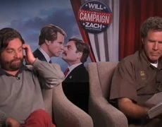 Will Ferrell Zach Galifianakis Read 50 Shades of Grey