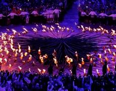 Londres 2012 Ceremonia de Apertura Encendido de la llama Olimpica Pebetero