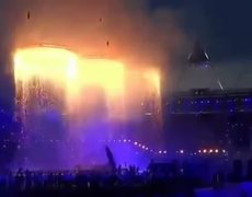 Londres 2012 Ceremonia de Inauguración Anillos Olímpicos