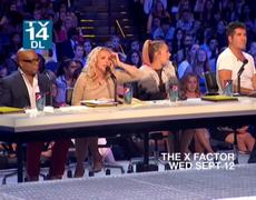 THE X FACTOR USA 2012 Britney Judge