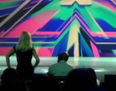 Britney Spears Dancing To A Contenstant On X Factor