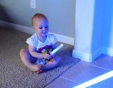 Baby Jedi New Generation Star Wars Viral video
