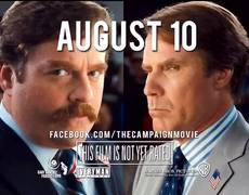 The Campaign Official Movie TV Spot 1 2012 HD Will Ferrell Zach Galifianakis Movie