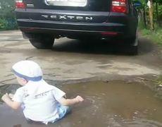 Wateproof baby FAIL