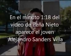 Joven que no es pertenence a la Ibero aparece en video de Enrique Peña Nieto y de Milenio TV