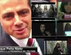 Mentiras de Enrique Peña Nieto de como fue recibido en la Ibero