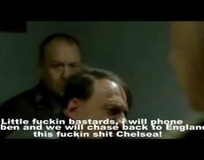 Hitler reacts Bayern vs Chelsea 2012 UEFA Champions