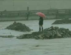 Daring Rescue From Chinese Flood