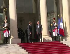 Frances Hollande says wants new path in Europe