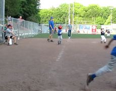 6yrold Unassisted Triple Play