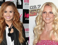 Demi Lovato and Britney Spears Join X Factor