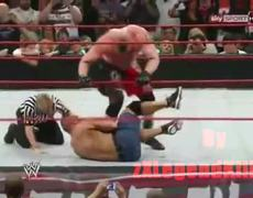 WWE Extreme Rules 2012 Brock Lesnar vs John Cena