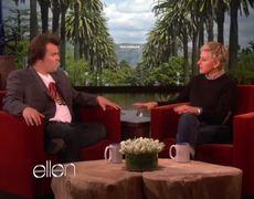 Jack Blacks Tiger Roll On The Ellen Show