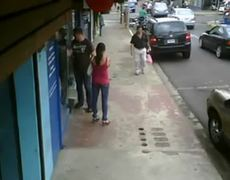 Pizza Delivery Motorcycle Crash With Car At Intersection 04242012