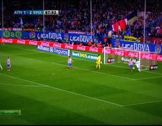 Atletico Madrid vs Real Madrid Cristiano Ronaldo Amazing Goal