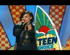 2014 Teen Choice Awards Demi Lovato Acceptance Award Speech