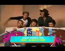 2014 Teen Choice Awards One Direction Wins Acceptance Award Speech