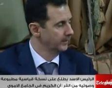 President Bashar alAssad visits Damascus