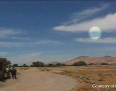 UFO Caught On Tape Over Santiago