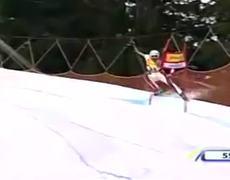 Skiing Fail
