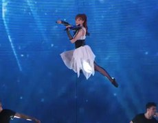 Americas Got Talent 2014 Lindsey Stirling Former AGT Act Performs Shatter Me With Lzzy Hale