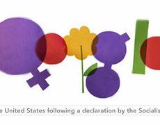 International Womens Day 2012 Google Doodle HD