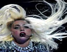 Grammy 2012 Lady Gaga Born this Way Live
