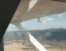 Amazing emergency landing