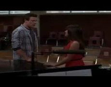 GLEE I Just Cant Stop Loving You Lea Michele Cory Monteith Performance