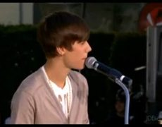 Justin Bieber at Michael Jacksons Hand and Footprint Ceremony