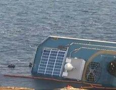 Explosion on Italian Cruise Ship