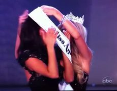 Miss America 2012 Crowning moment