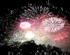 New Year 2012 on New York City Fireworks