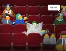Club Penguin in movie theaters