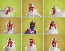 Los Muppets Gallinas clásicas