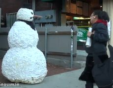 Snowman Funny Prank XIX