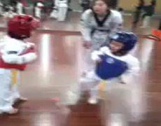 Bebes de taekwondo