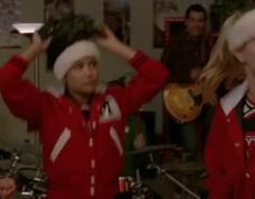 GLEE All I Want For Christmas is You Amber Riley Performs