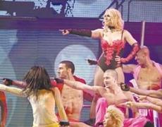 Previo al concierto de Britney Spears en Monumento a la Revolución